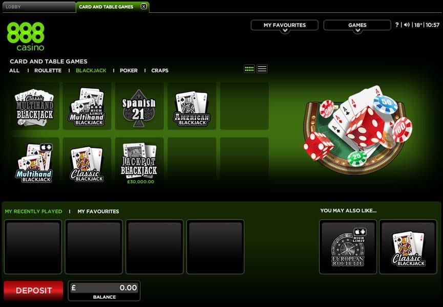 888 Casino Games Download