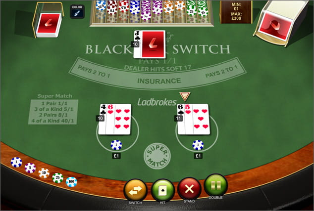 Rules for betting in blackjack