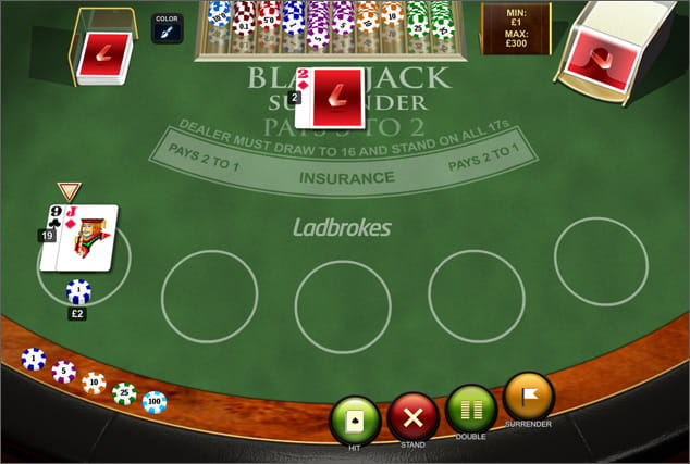 Ladbrokes betting rules in blackjack hearts vs celtic betting expert
