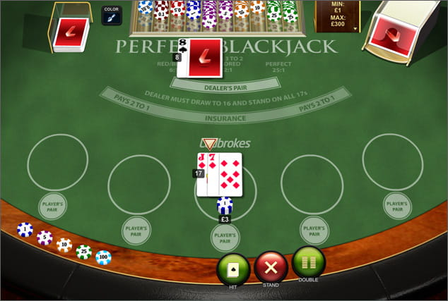 Play Perfect Blackjack Online at Casino.com