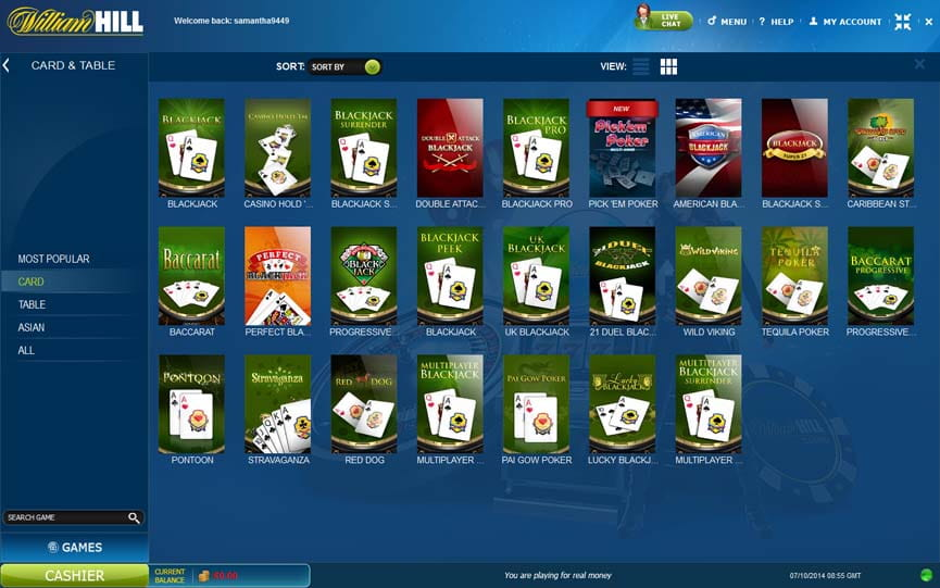 William hill casino download & instant play [ultimate guide].